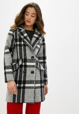 Пальто Allegri. Цвет: серый