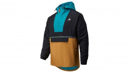 Куртки NB ATHLETICS TERRAIN ANORAK New Balance. Цвет: мульти