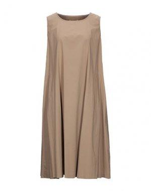 Платье до колена MAMA B.. Цвет: верблюжий