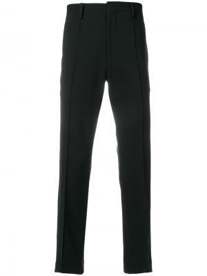Классические брюки Burberry. Цвет: черный