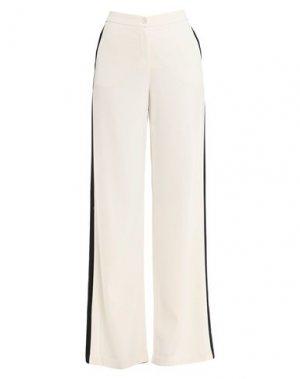 Повседневные брюки BEATRICE. Цвет: белый