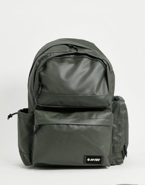 Рюкзак оливкового цвета Stevenson-Зеленый цвет Hi-Tec