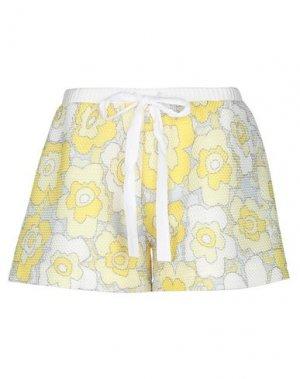 Повседневные шорты ANDREA TURCHI. Цвет: желтый
