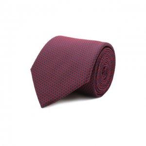 Шелковый галстук BOSS. Цвет: красный