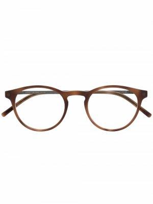 Очки Talini 852 с накладными линзами Mykita. Цвет: нейтральные цвета