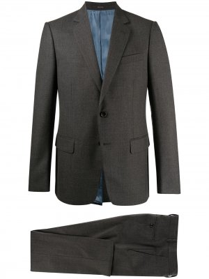 Костюм с однобортным пиджаком Gucci. Цвет: серый