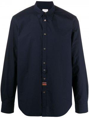 Рубашка с длинными рукавами Paul Smith. Цвет: синий