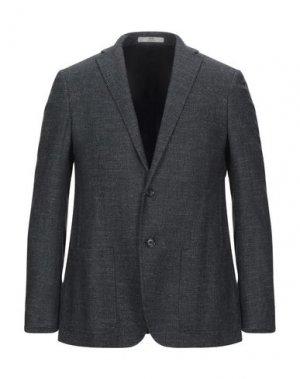 Пиджак CC COLLECTION CORNELIANI. Цвет: стальной серый
