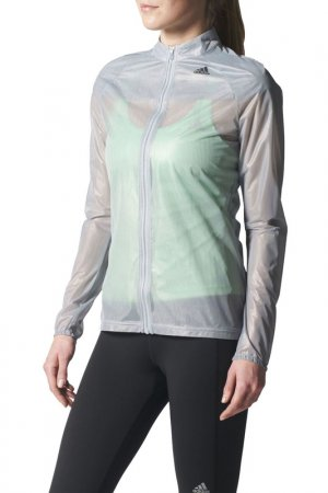 Ветровка AZ GHOST JKT W adidas. Цвет: серый