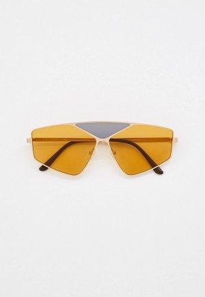 Очки солнцезащитные Karl Lagerfeld KL 311S 718. Цвет: золотой