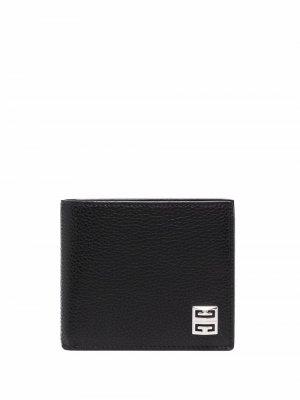Складной кошелек Givenchy. Цвет: черный