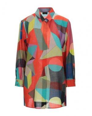 Pубашка AKRIS. Цвет: коралловый