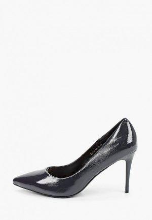 Туфли Inario. Цвет: серый