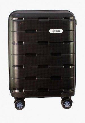 Чемодан Proffi travel Tour Fashion, S. Цвет: черный