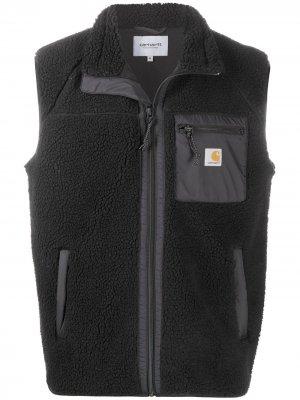 Флисовый жилет Carhartt WIP. Цвет: черный