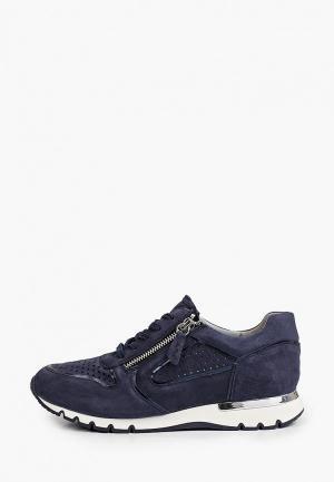 Кроссовки Caprice Увеличенная полнота, Comfort. Цвет: синий