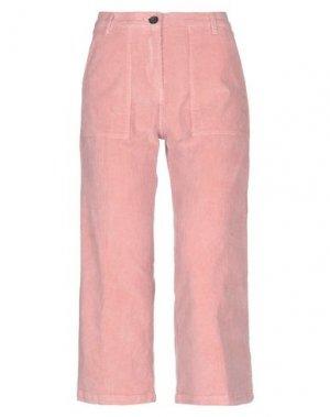 Брюки-капри WHITE SAND 88. Цвет: розовый