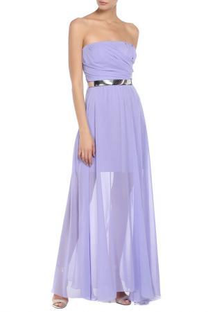 Платье Fervente. Цвет: сиреневый