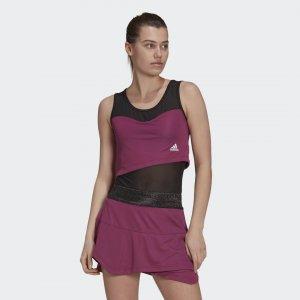 Боди для тенниса Primeblue Performance adidas. Цвет: none