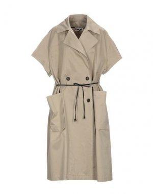 Легкое пальто HACHE. Цвет: бежевый