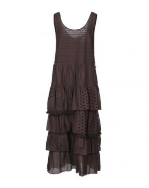 Длинное платье SISTE' S. Цвет: какао