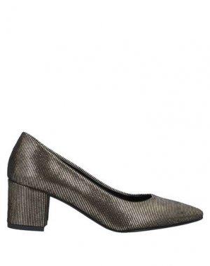 Туфли BALLERINA. Цвет: платиновый