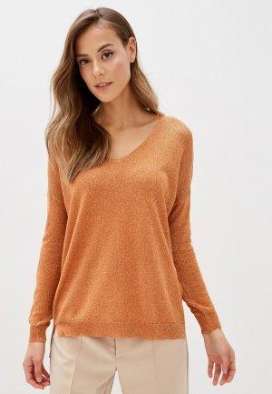 Пуловер Zabaione. Цвет: оранжевый
