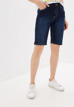 Шорты джинсовые Top Secret. Цвет: синий