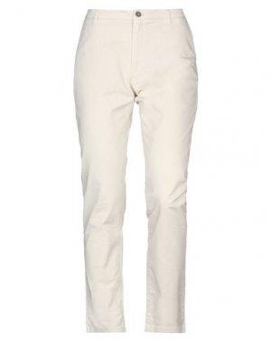 Повседневные брюки HISTORIC. Цвет: песочный
