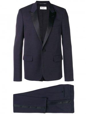 Деловой костюм с пиджаком заостренными лацканами Saint Laurent