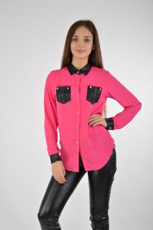 Рубашка Extasy. Цвет: розовый
