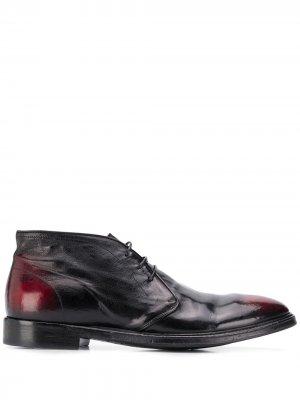 Ботинки Ulisse на шнуровке Alberto Fasciani. Цвет: черный