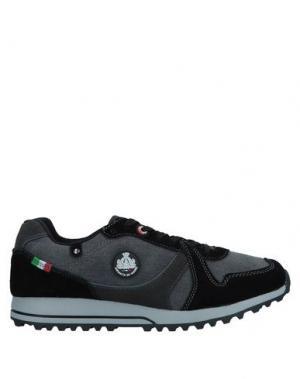 Низкие кеды и кроссовки ARMATA DI MARE. Цвет: черный