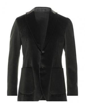 Пиджак PAOLO PECORA. Цвет: зеленый-милитари