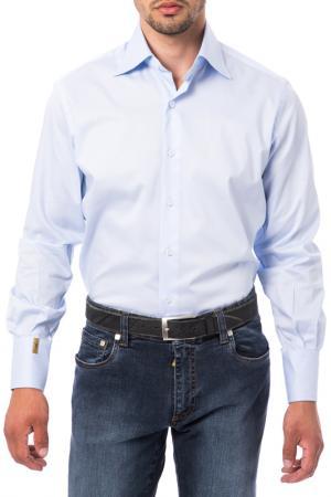 Рубашка Billionaire. Цвет: голубой