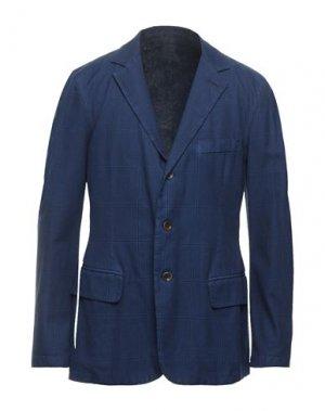 Пиджак 120%. Цвет: синий