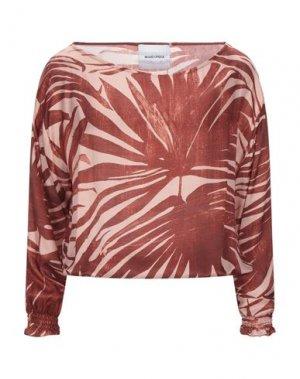Блузка BRAND UNIQUE. Цвет: кирпично-красный