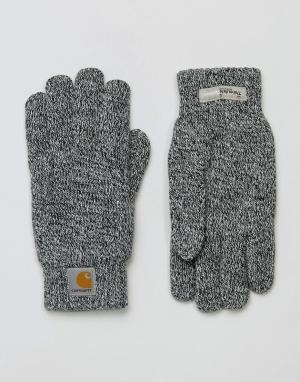 Перчатки WIP Scott Carhartt. Цвет: серый