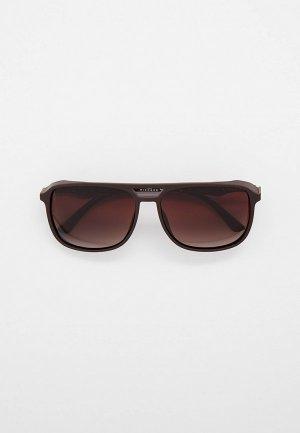 Очки солнцезащитные Thom Richard TR9023. Цвет: коричневый