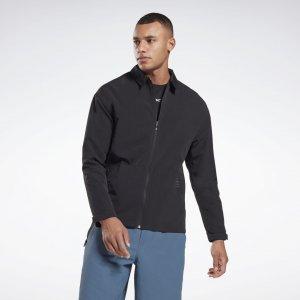 Спортивная куртка Utility Reebok. Цвет: black