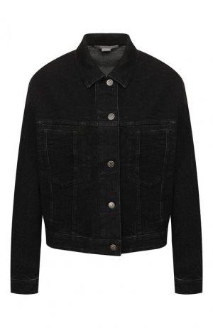 Джинсовая куртка Stella McCartney. Цвет: чёрный