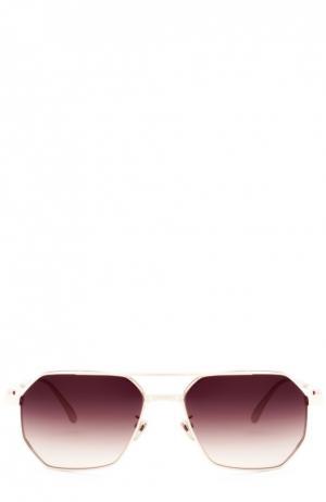 Солнцезащитные очки Frency&Mercury. Цвет: коричневый