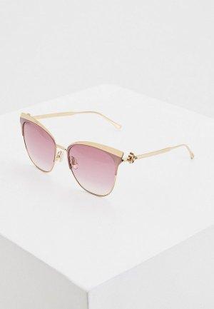 Очки солнцезащитные Jimmy Choo JULY/S EYR. Цвет: розовый