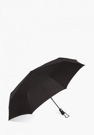 Зонт складной Henry Backer. Цвет: черный