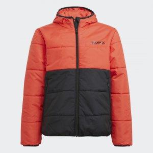 Куртка Adventure adidas. Цвет: красный