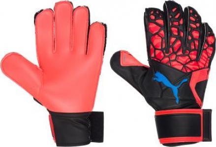 Перчатки вратарские Puma, размер 11 PUMA. Цвет: красный