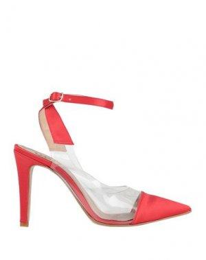 Туфли SANDRO FERRONE. Цвет: красный