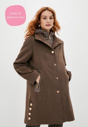 Пальто Betty Barclay. Цвет: коричневый