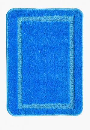 Коврик для ванной CTIM. Цвет: синий