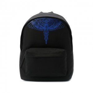 Текстильный рюкзак Marcelo Burlon. Цвет: чёрный